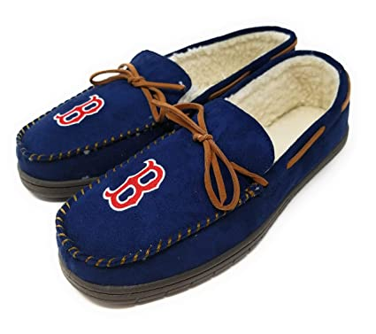 c355d50131e Amazon.com   Forever Collectibles MLB Team Color Big Logo Moccasin ...