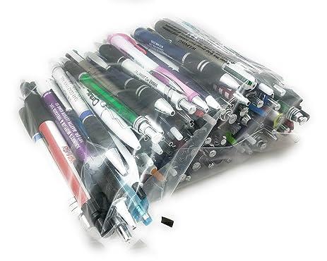 Assorted Misprint Ink Pens Ballpoint Retractable Office Big Bulk Lot (2 Lb)