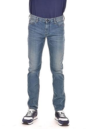 d5e6af8fa Emporio Armani Armani Men's J06 Slim Fit Jeans Denim Blue