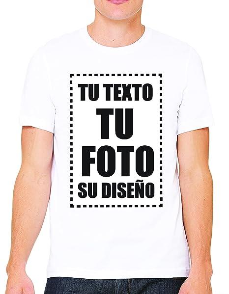 VILLAGESTORE Camiseta Personalizadas Delantera Unisex Long Fit 100% Algodón (VERIFIQUE SU TAMAÑO DE LA