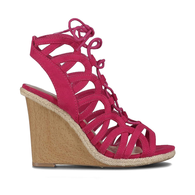 - INDIGO RD. Women's Holiday-A Sandals in Dkpnk