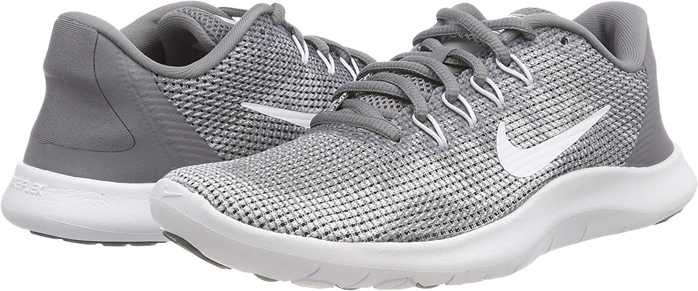 687d0e5c Nike Women's Flex Run 2018 Running Shoes (9 B(M) US, Cool. Back. Double-tap  to zoom