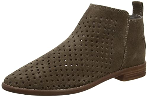 26ce689e101 Hudson Women's Revelin Suede Perf Ankle Boots, Grey (Taupe), 5 UK 38 ...