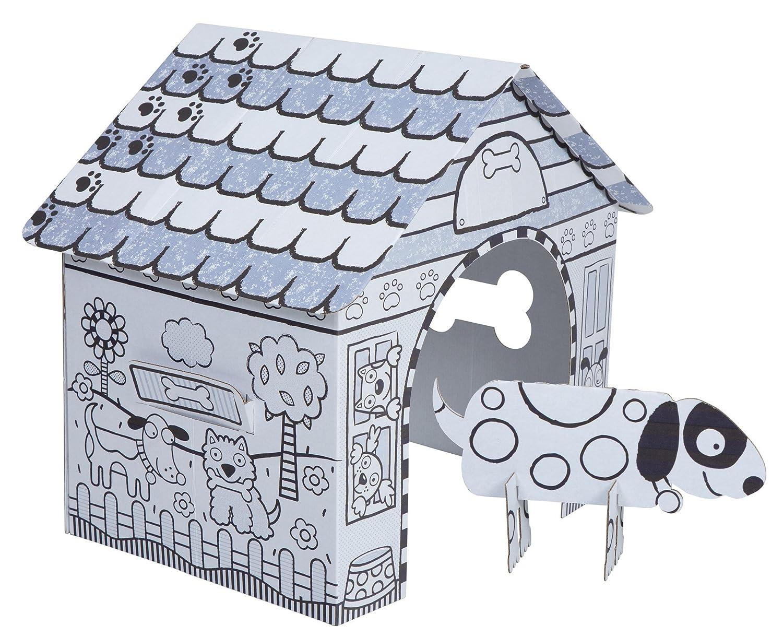 Amazoncom ALEX Toys Craft Color a Dog House Childrens Kit Toys