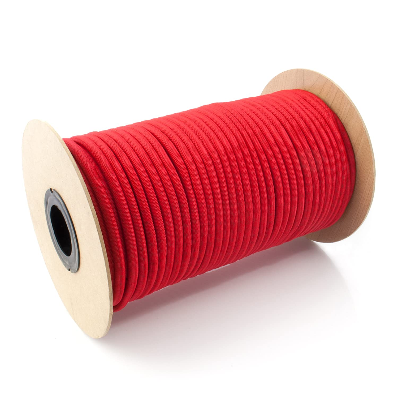 25m GUMMISEIL 4mm Expanderseil BLAU Gummischnur Gummikordel Gummiseile Spannseil Planenseil Gummileine Seil Plane Netz