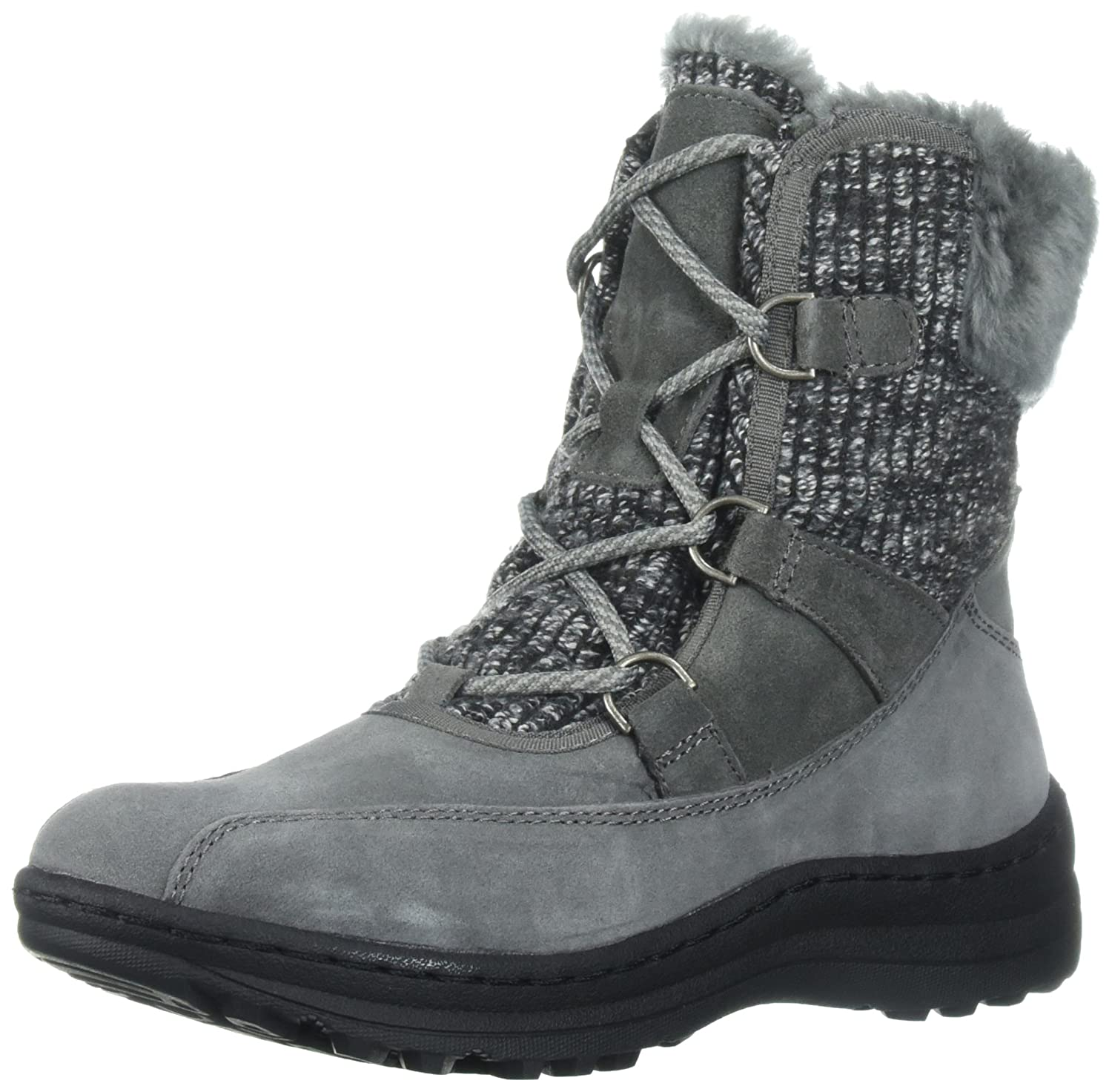 BareTraps Women's Aero Snow Boot, Black, 7.5 M US B071HHKFNX 9 B(M) US|Dk Grey