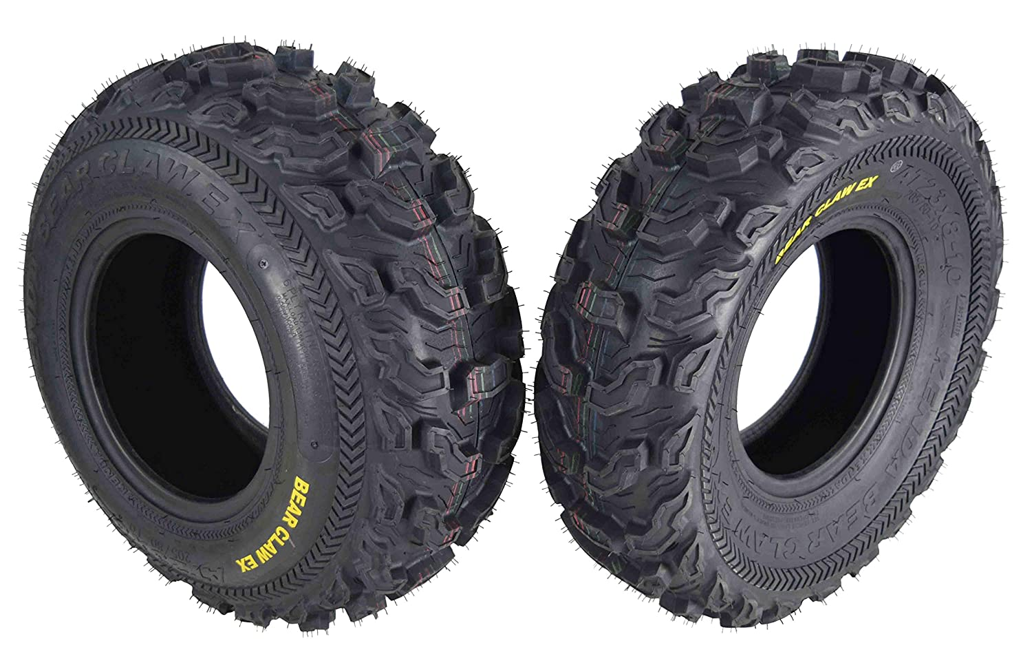 Kenda Bear Claw EX 23x8-10 Front ATV 6 PLY Tires Bearclaw 23x8x10-2 Pack