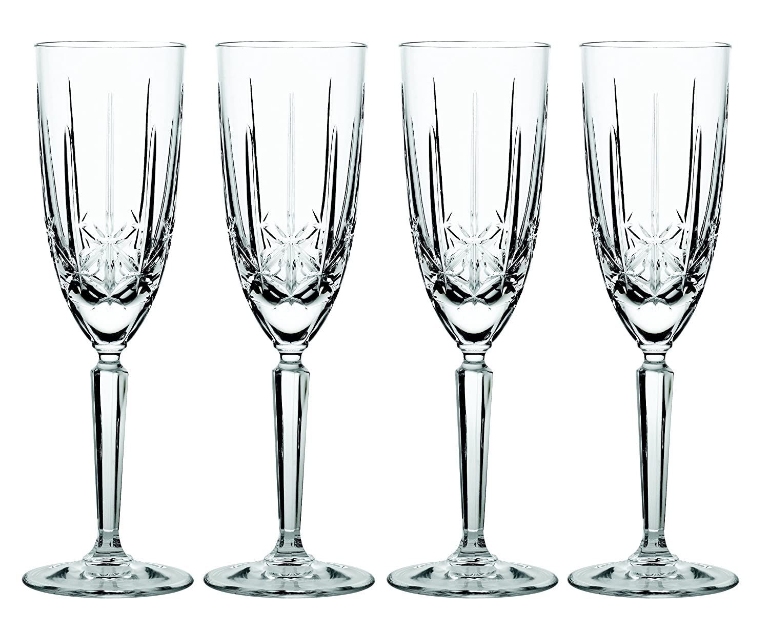 Amazon marquis by waterford sparkle flute set of 4 amazon marquis by waterford sparkle flute set of 4 champagne flutes bar cocktail wine glasses reviewsmspy
