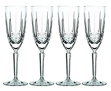 Amazon Marquis By Waterford Sparkle Flute Set Of 4 Champagne