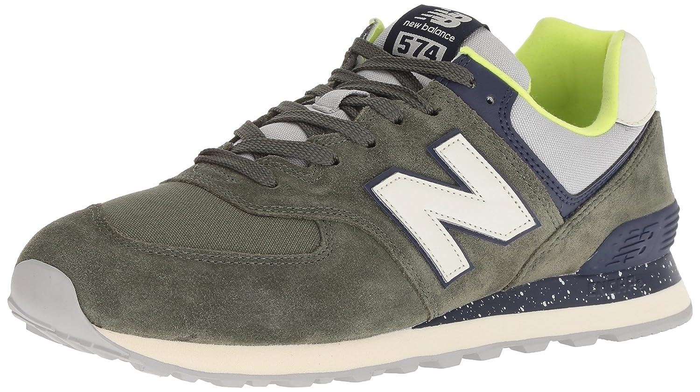 New Balance 574v2, Zapatillas para Hombre 45 EU|Verde (Dark Covert Green/Pigment Hvc)