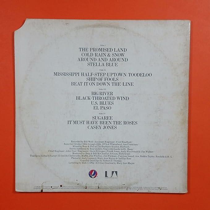 GRATEFUL DEAD Steal Your Face GD LA620 J2 Dbl LP Vinyl VG+ Cover VG+
