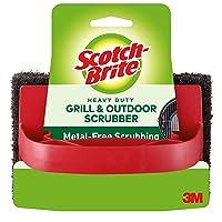 Deals on 3M 7721 Scotch-Brite Heavy Duty Outdoor Scrubber