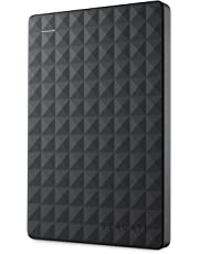 Seagate STEA1000400 Expansion Portable External Portable Hard Drive + STZZ794 Product Card with Registration Code, 1TB, Black, 2019 Deluxe Edition