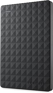 Seagate STEA1000400 Expansão - Disco Rígido Externo Portátil de 1 TB para PC com USB 3.0, Preto