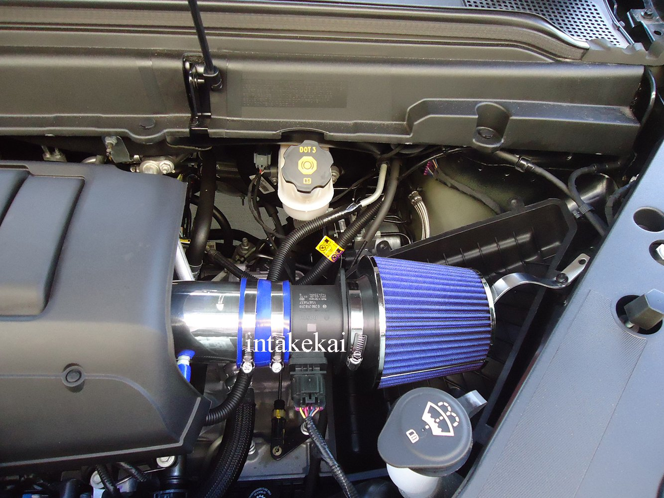 BLUE Performance Air Intake for CHEVROLET CHEVY TRAVERSE//GMC ACADIA//BUICK ENCLAVE//with 3.6L V6 DOHC ENGINE