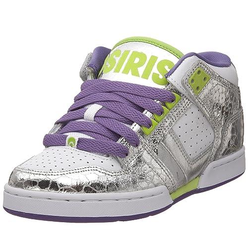 Zapatillas Osiris NYC 83 Girls Skate Shoes - White/Gun/LMW (37)