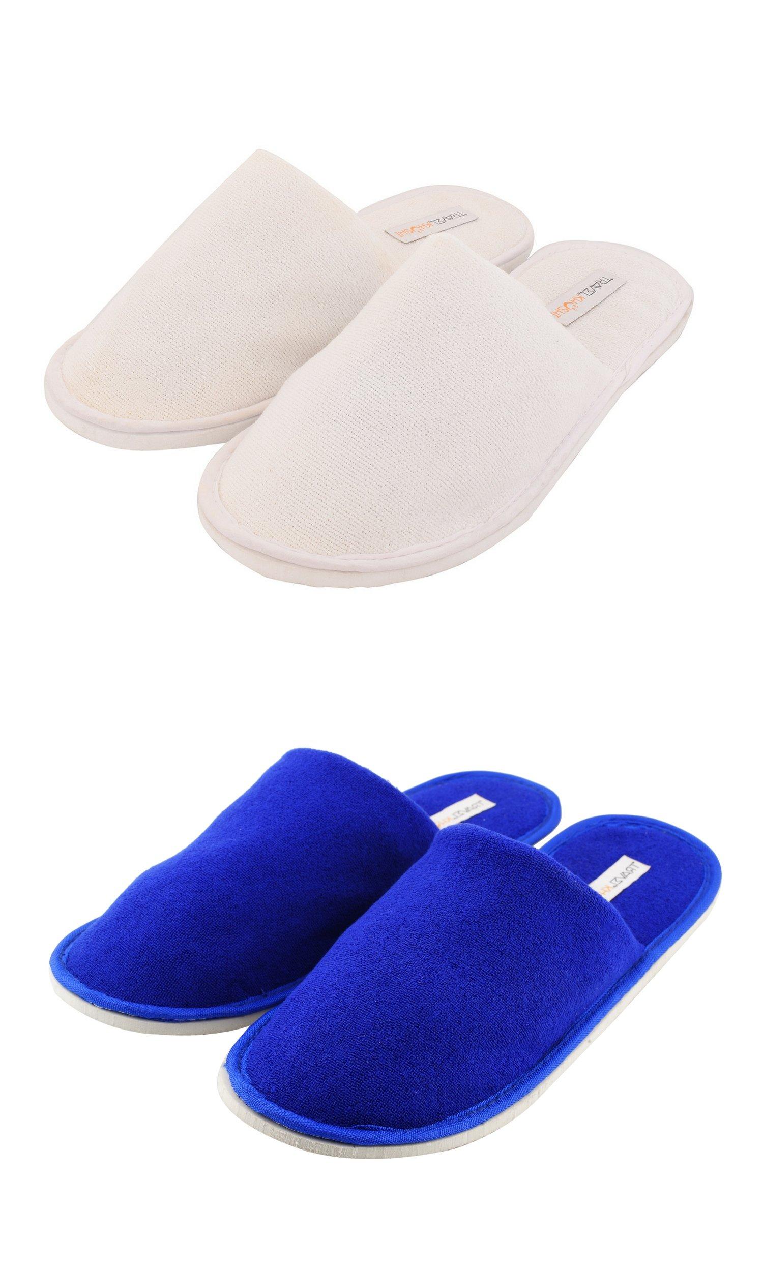 Travelkhushi Unisex's White and Black Loafers-8 UK/India (42 EU) (COM2-CTS-CTBU-8) (B076N2QRPX) Amazon Price History, Amazon Price Tracker