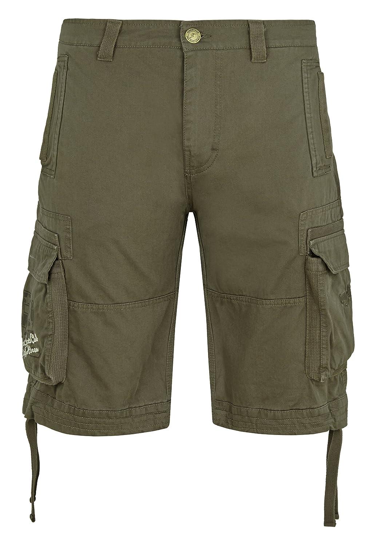 Goodyear Herren Shorts - Kurze Hose - Bermuda New Castle - Khaki