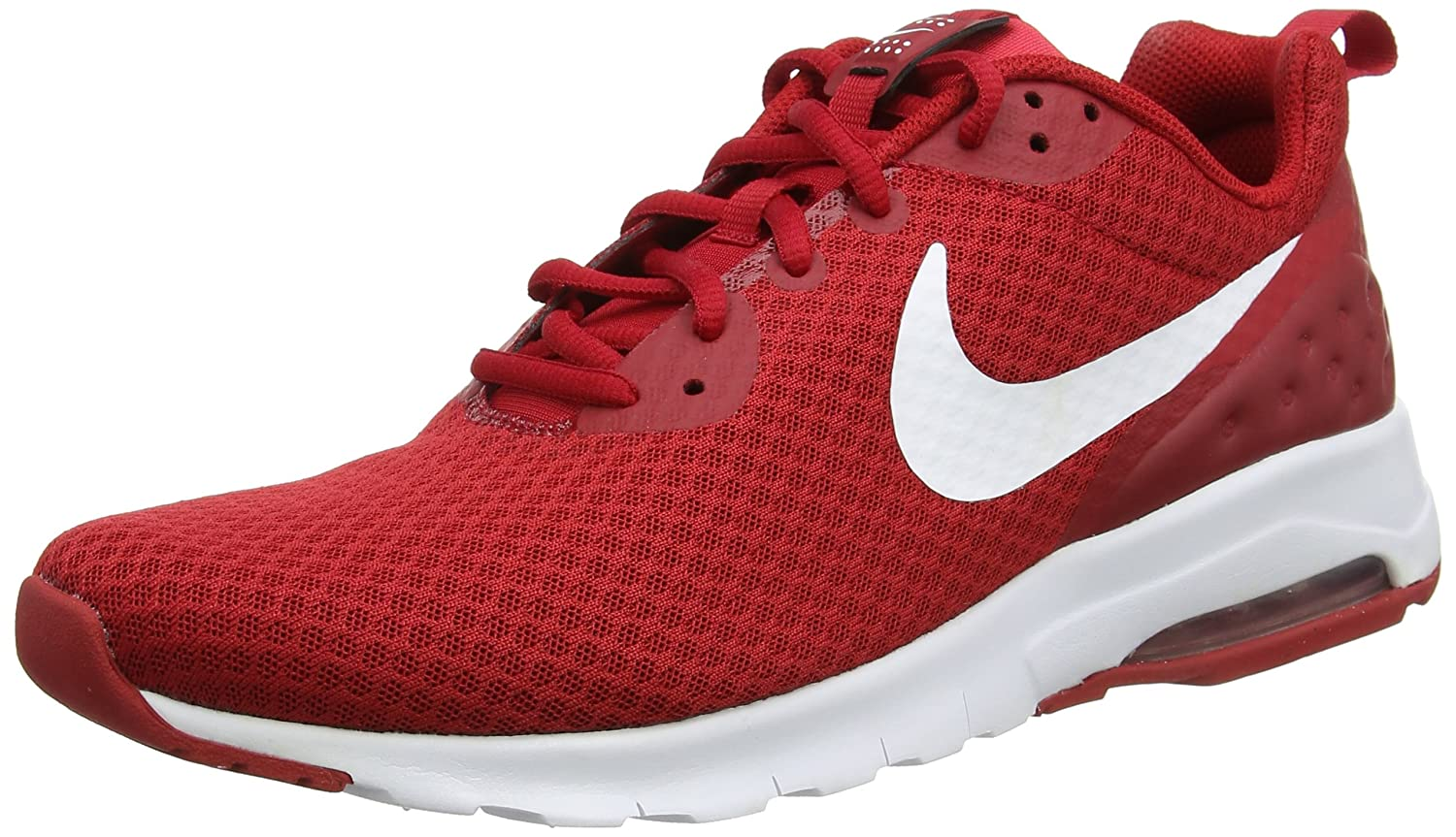 Nike Herren Air Max Motion Lw Sneaker, Gym Red/White  X-Small|Rot (Gym Red/White)