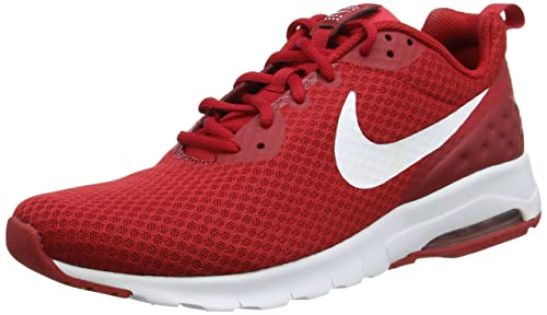 reputable site fec67 c8639 Nike Mens AIR MAX Motion LW Gym REDWhite Running Shoes-10 UK