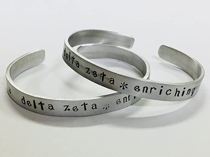 Amazon.com: Delta Zeta - enriching, DZ Greek Sorority Quote ...
