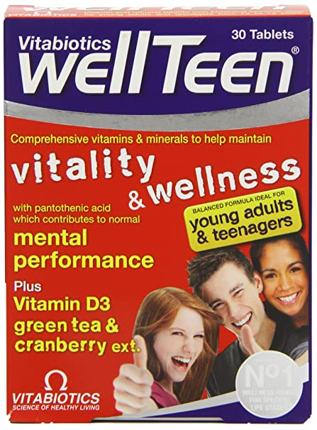 Vitabiotics Wellteen - 30 Tablets