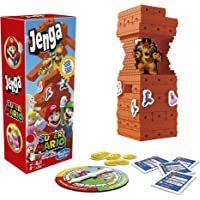 Hasbro Gaming E9487 Jenga: Super Mario Edition Game, Block Stacking Tower Game for Super Mario Fans, Ages 8 and Up