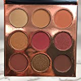 Cosmetics Burgundy 9 Colors Shimmer Matte nude