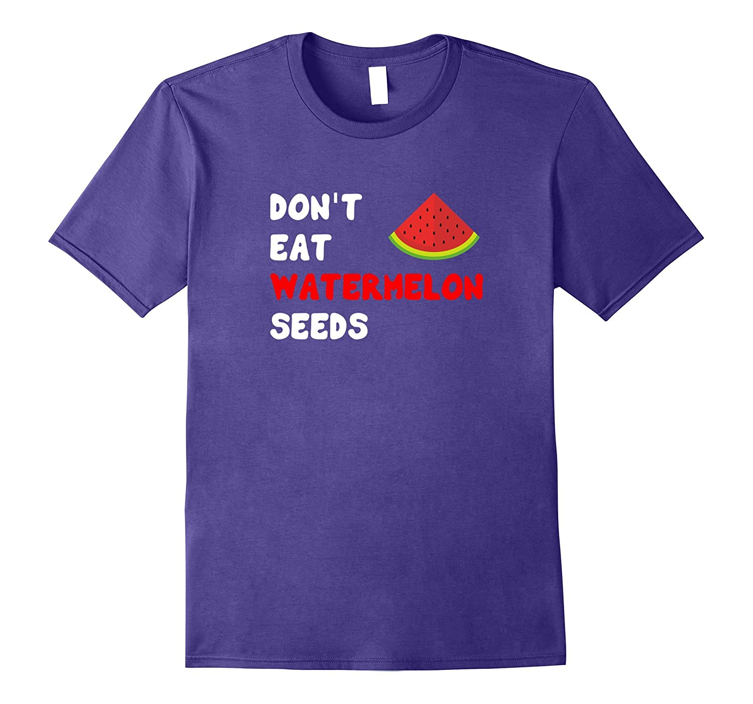 Dont Eat Watermelon Seeds Funny Pregnancy Gift T-Shirt-Vaci