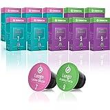Gourmesso Coffret Lungo - 100 capsules de café compatibles Nespresso® - Café équitable