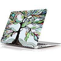 "FUNUT MacBook Pro 13"" Non-Retina Case Hard Plastic Full Body Case Folio Protective Skin Soft-Touch Fit Model A1278 with CD-ROM Drive - Love Tree"