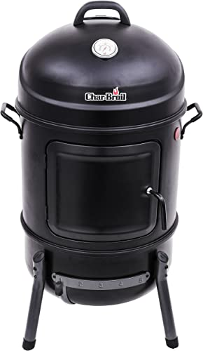 Char-Broil Bullet Charcoal Smoker, 20