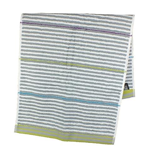 Sorema Drop - Toalla para baño, de algodón, 100 x 150 cm, multicolor
