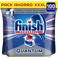 Finish Quantum Regular Pastillas para Lavavajillas - 100 pastillas