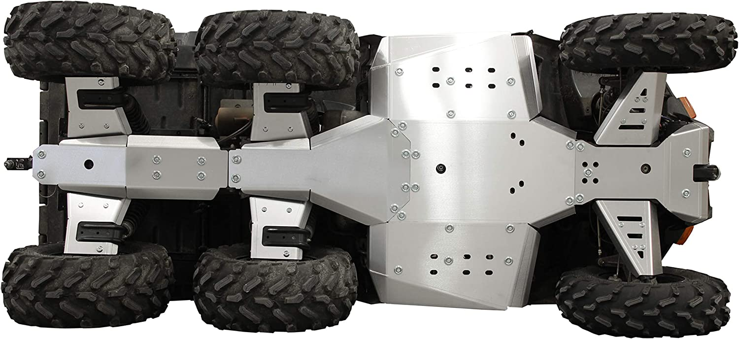 - IRON BALTIC Skid plate full set aluminium Polaris Sportsman Big Boss 6x6 570