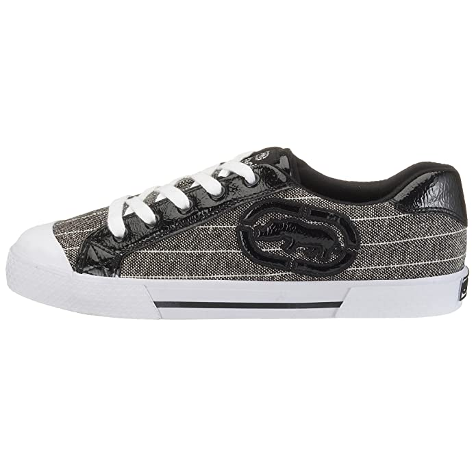 Marc Ecko Footwear - Zapatillas de deporte de tela para mujer, color negro, talla 37