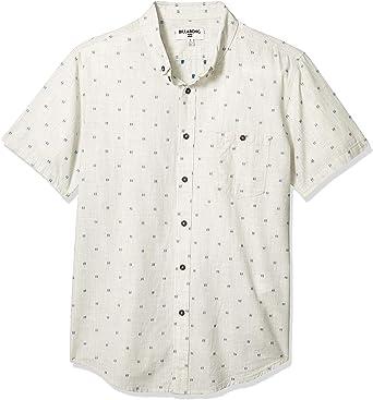 Billabong Mens All Day Jacquard Short Sleeve Woven Shirt: Amazon.es: Ropa y accesorios
