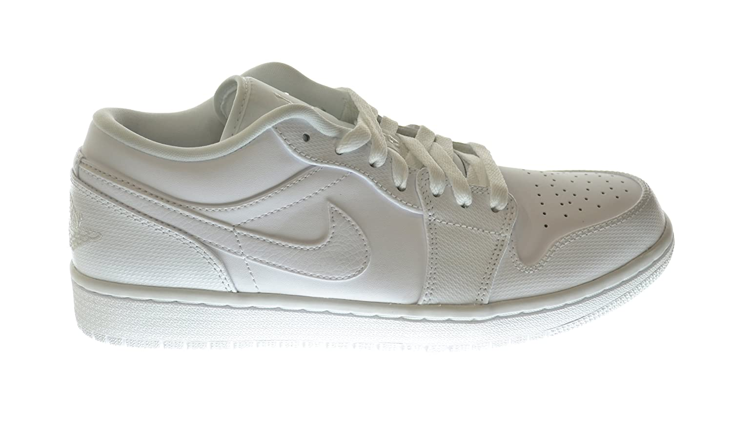 5a4e4fdcb8d0ed Jordan Air 1 Low Men s Sneakers White 553558-102 (12.5 D(M) US)   Amazon.co.uk  Shoes   Bags