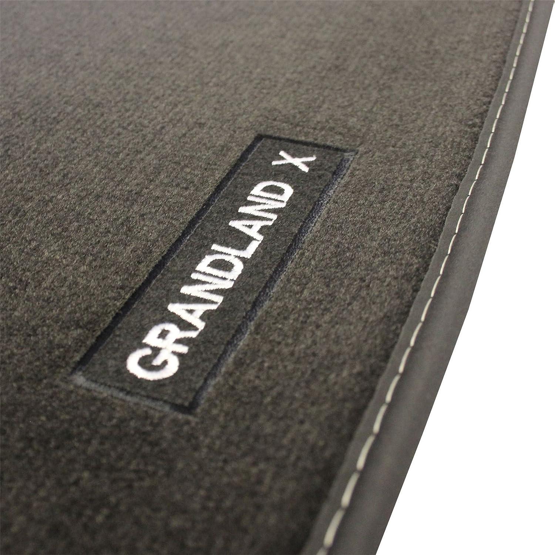VAUXHALL Genuine Grandland X Carpet Footwell Mats Tailored Fitted Black Set of 4 Official Grandland X 2017 Velour Mats