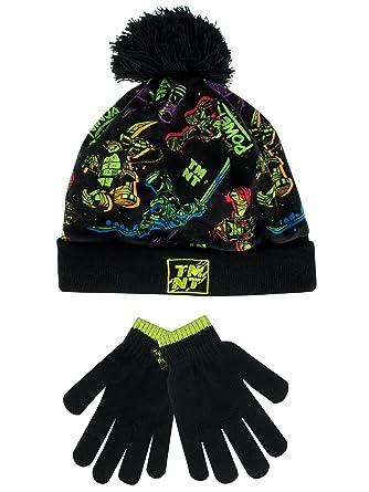 80a191b8a8f Les Tortues Ninja - Pack Bonnet et Gants - Teenage Mutant Ninja Turtles -  Garçon -