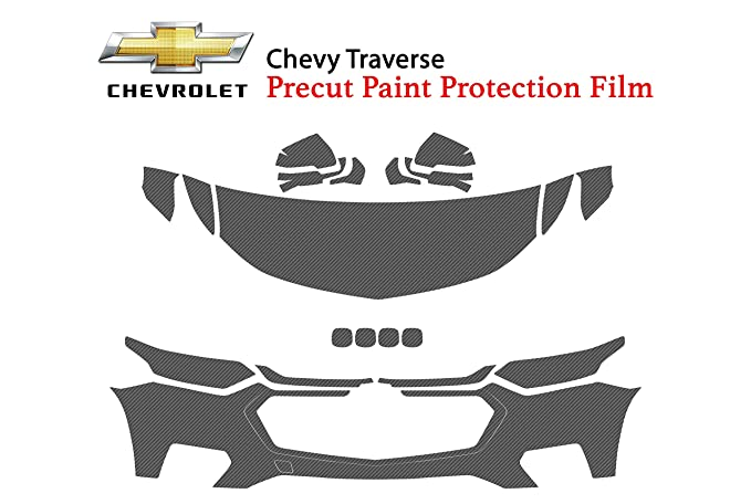 Chevrolet Tahoe 2016-2019 PreCut 3M Scotchgard Paint Protection Clear Bra Kit
