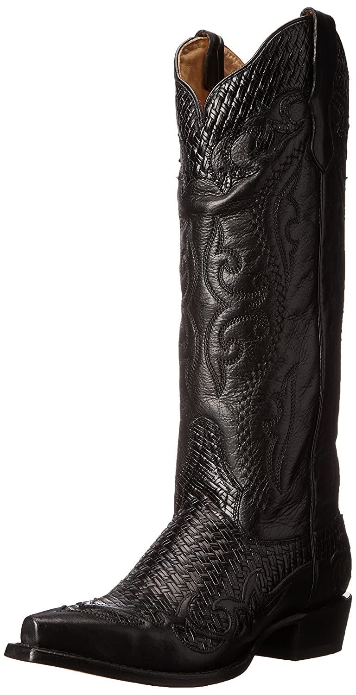 Stetson Women's Bailey Western Boot B00U9XUZ2G 8.5 B(M) US|Vintage Black