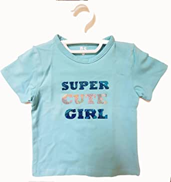 RS Round Neck T-Shirt For Girls