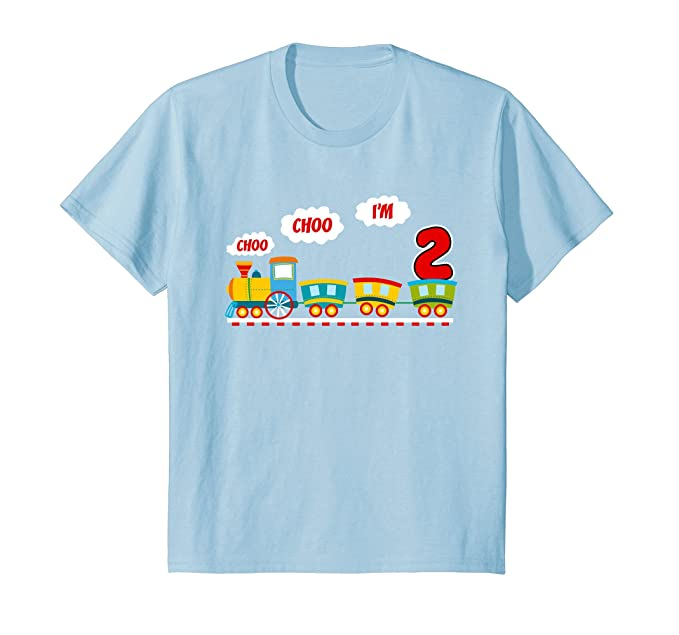 Kids 2 Year Old Toddler Birthday Shirt