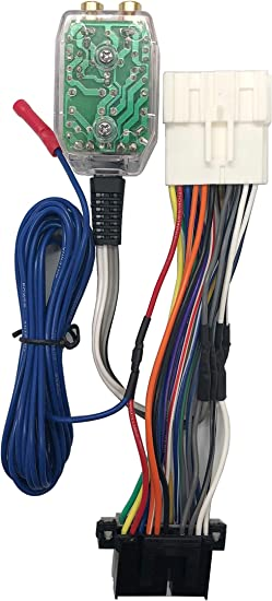 Amazon.com: Custom Install Parts Factory Radio Amp Subwoofer Interface Wire  Harness + Inline Converter Kit Compatible with Chevrolet   Chevrolet Wiring Harness Parts      Amazon