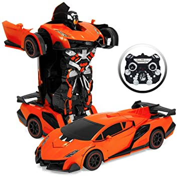 Amazon Com Best Choice Products Kids Interactive Transforming Rc