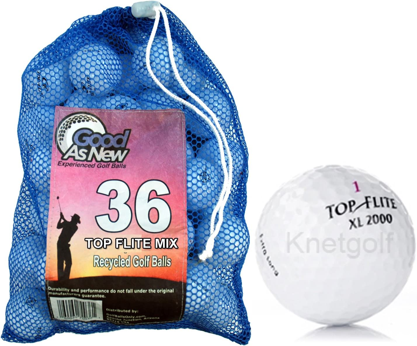 Top Flite Pre-owned Golf Ball Mix 36 pack