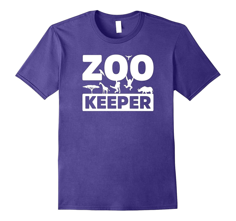 Zoo Keeper T-Shirt Animal Lovers Shirt Funny Gift-FL