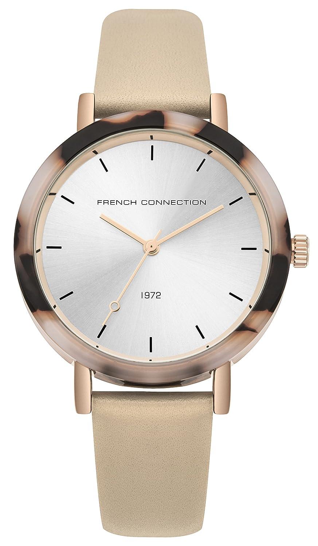 Klassisch Armband Connection Damen Datum Uhr Mit Quarz Leder French c54LqAjS3R