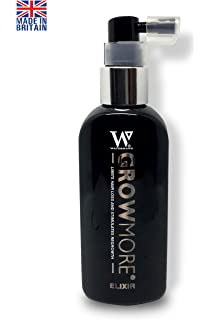 Watermans Grow More Elixir of Hair - Suero para crecimiento del cabello (100 ml,